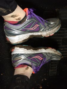 It really was muddy - More Evidence!!!