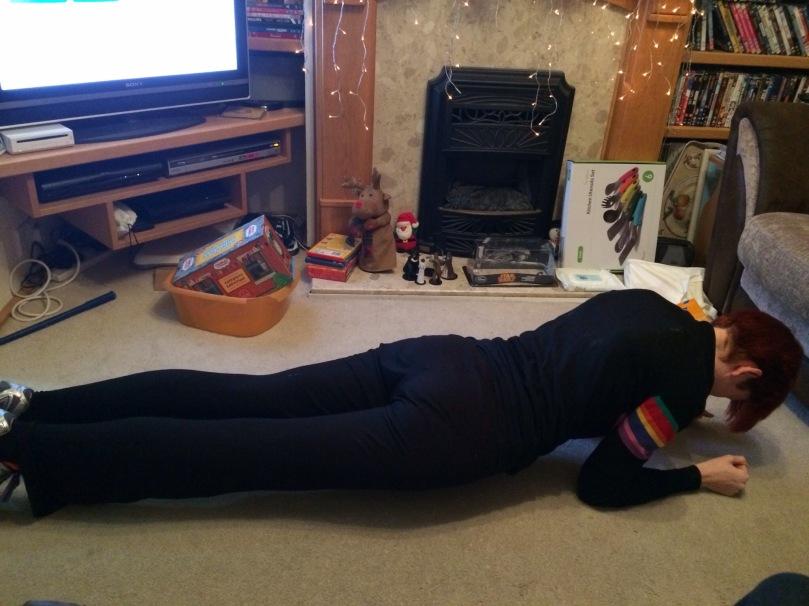 My impression of a plank!
