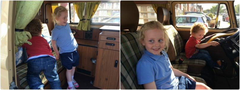 It's a campervan - made their day!!!