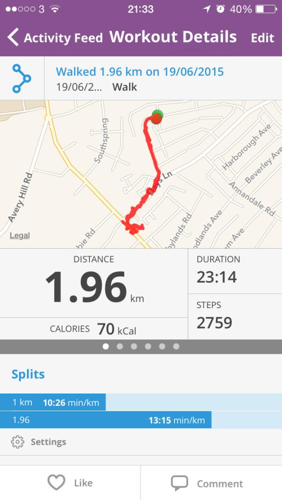 Short walk