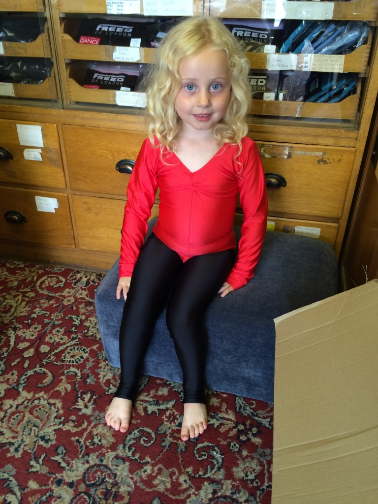 My little gymnast (and good girlie)!