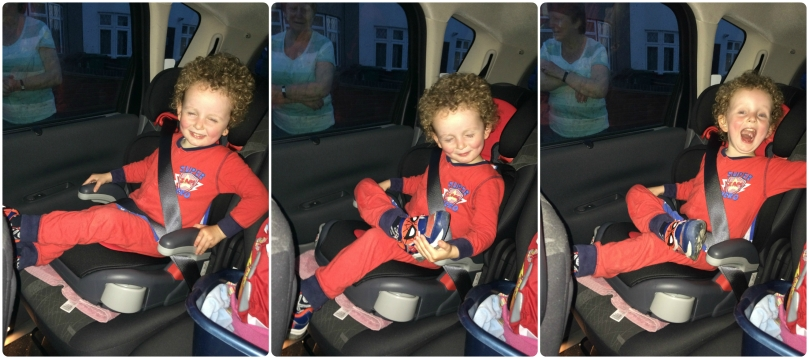 Car seat king!
