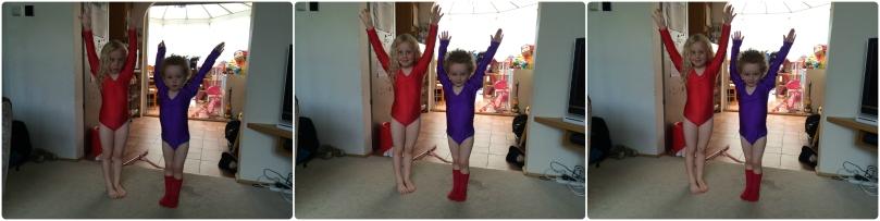 Gymnastics poses!