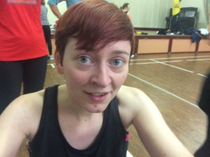 Obligatory sweaty selfie after a fab workout!
