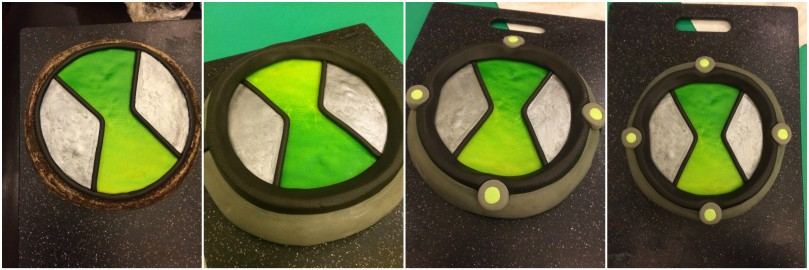The top of the Omnitrix