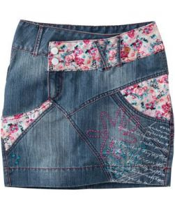 Papagayo Denim Skirt